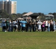 Sunday morning NA Daytona Meeting in Sunrise Park Holly Hill Fl